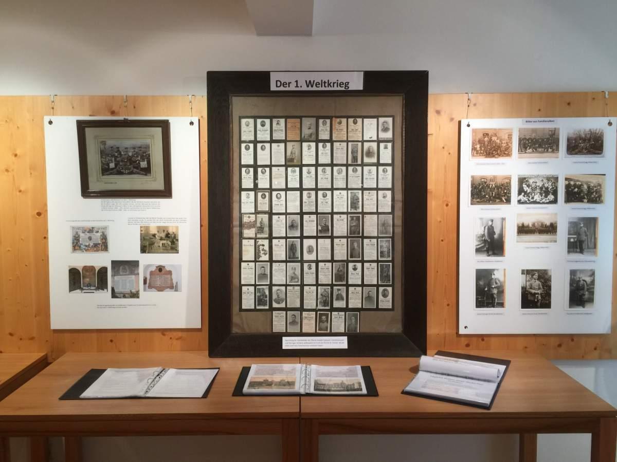 Ausstellung Frasdorf und der erste Weltkrieg