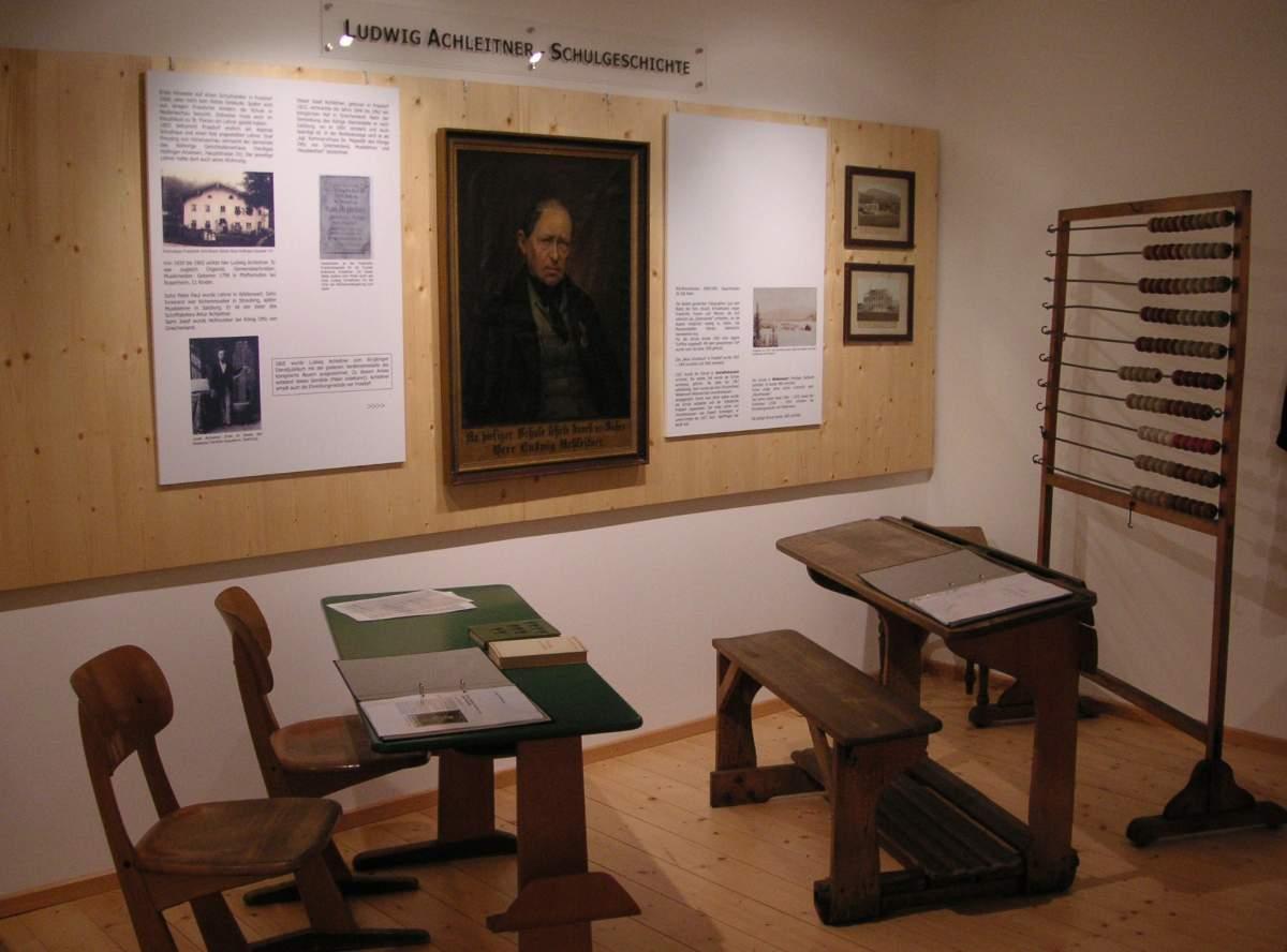 Ausstellung SChulgeschichte