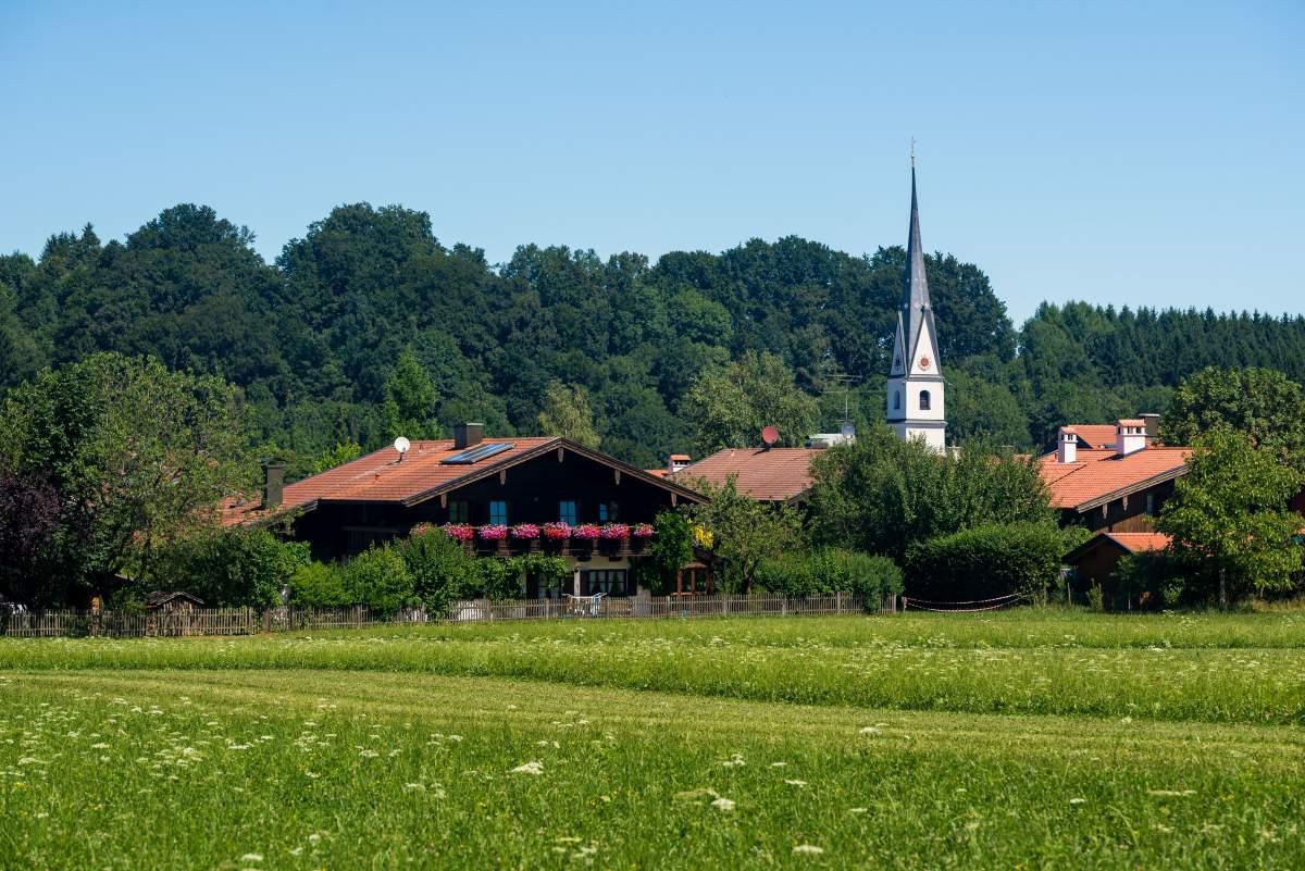 Frasdorf von Süden