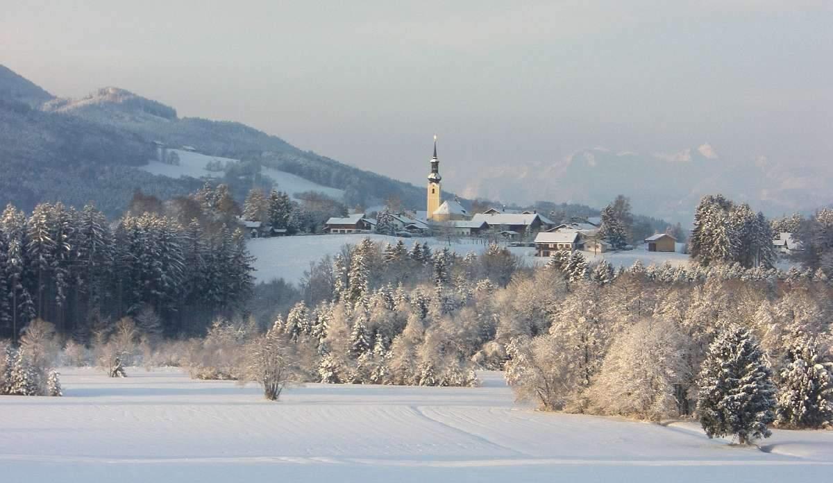 Umrathshausen im Winter ©Chr. Bachmann