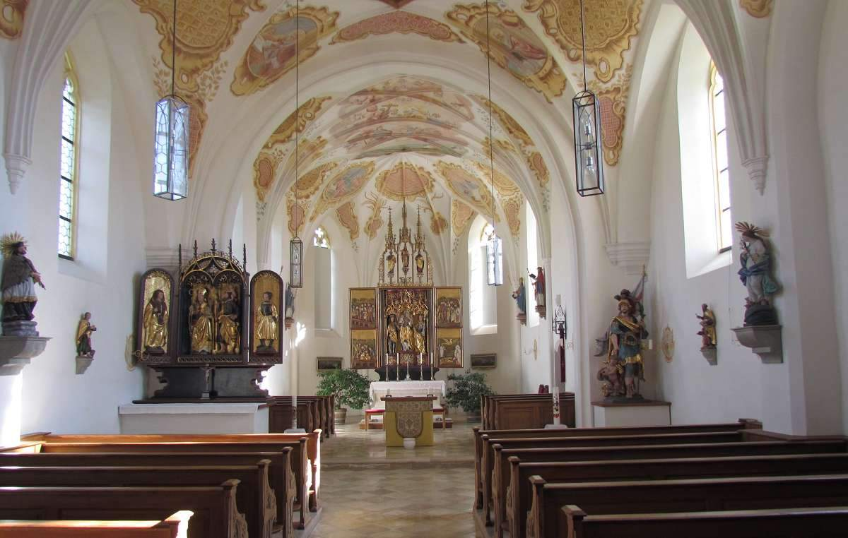 Kirche St. Florian Inneres