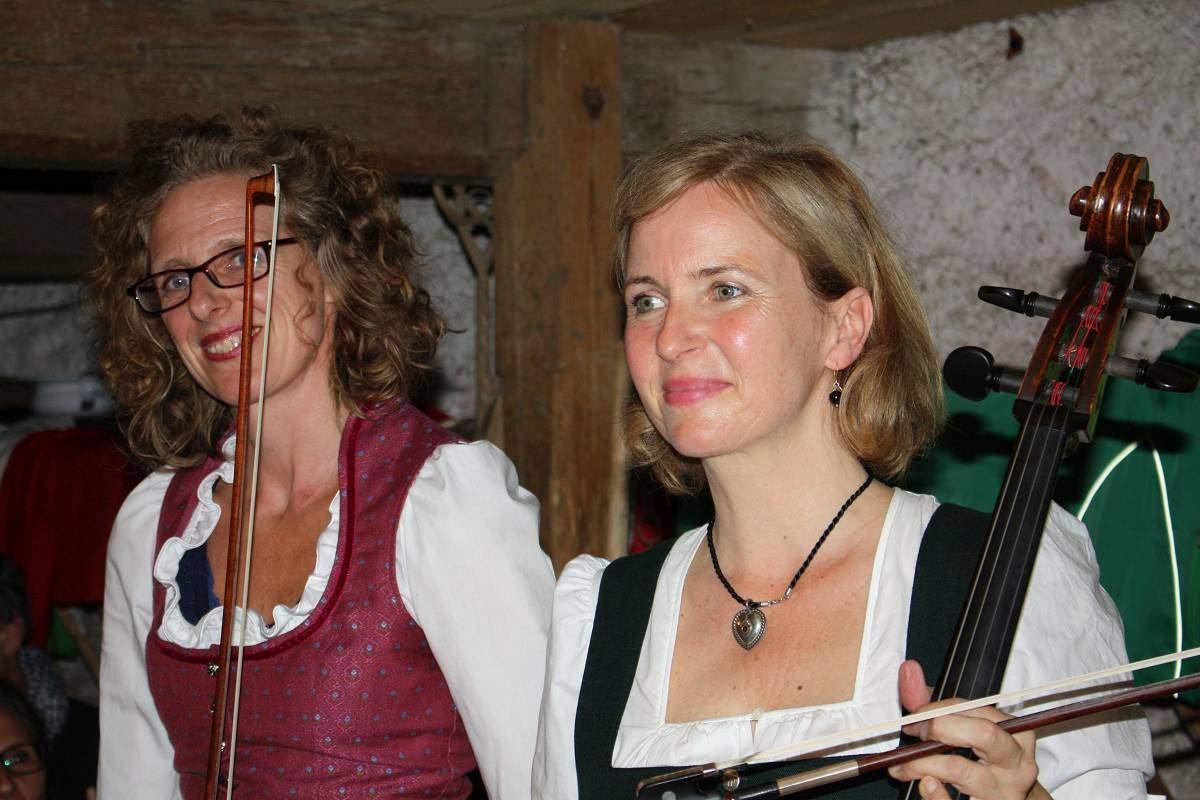 Rauchalm Musikerinnen Almkonzerte ©Brigitte Kolbeck