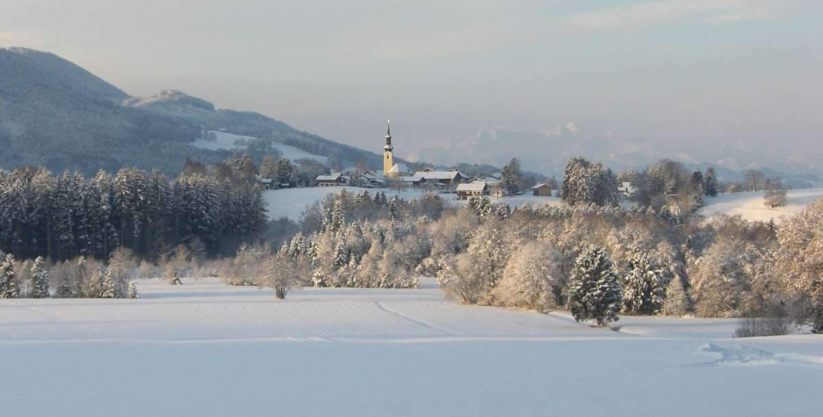 Umrathshausen im Winter ©Christina Bachmann