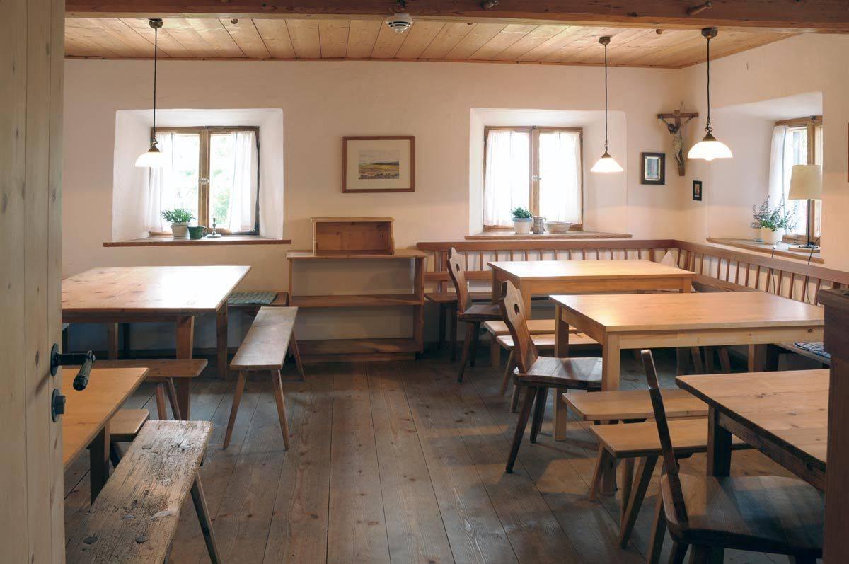 Jugendhaus Haslau Speiseraum ©Jugendhaus