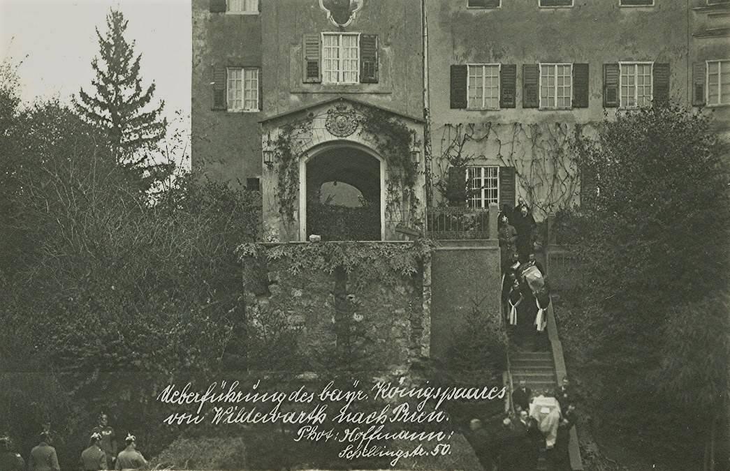 Überführung des bayrischen Königspaares aus dem Schloß Wildenwart 2