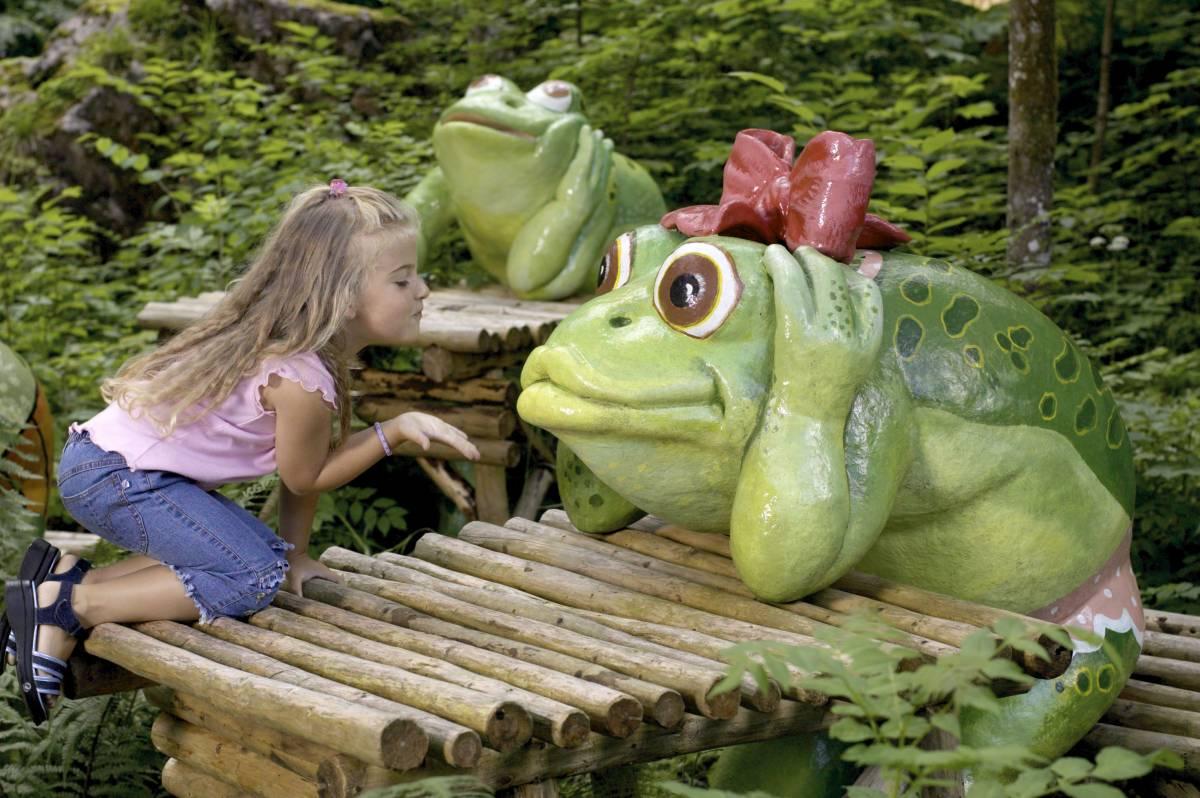 Frosch©Freizeitpark Ruhpolding